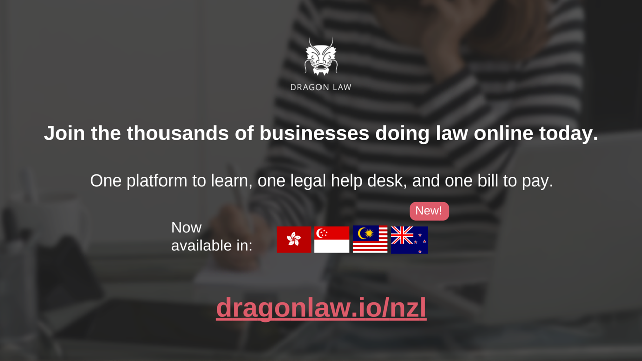 Dragon Law New Zealand