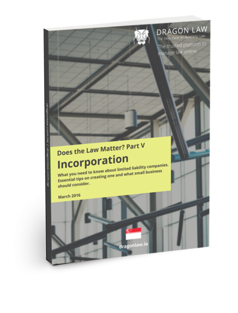 Incorporation eBook on what you need to know about limited liability companies